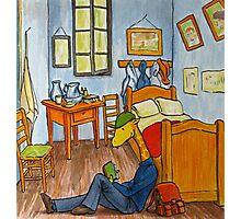 Art Giraffe- Bedroom at Arles Photographic Print