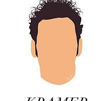Seinfeld - Kramer Headshot by alainaborst
