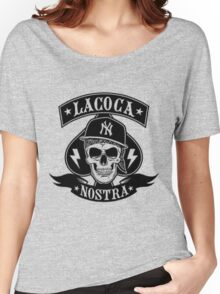 Cocaine gangster Skull Women's Relaxed Fit T-Shirt
