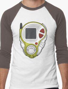 TK and Cody's D-3 Digivice Men's Baseball ¾ T-Shirt