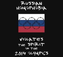 Russian Homophobia Violates the Spirit of the 2014 Olympics Kids Clothes