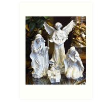 Nativity Scene Art Print