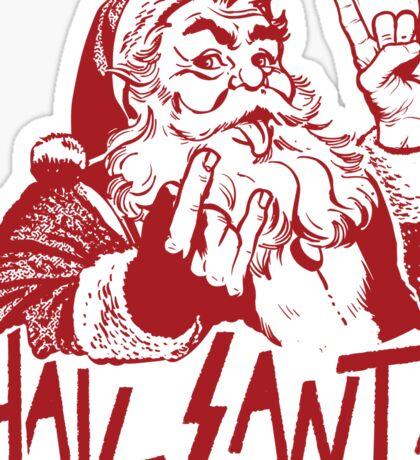 Hail Santa Sticker