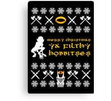 Merry Christmas, Ya Filthy Hobbitses Canvas Print