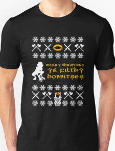 Merry Christmas, Ya Filthy Hobbitses Unisex T-Shirt