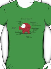 Octorok Meat Chart T-Shirt