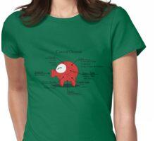 Octorok Meat Chart Womens Fitted T-Shirt