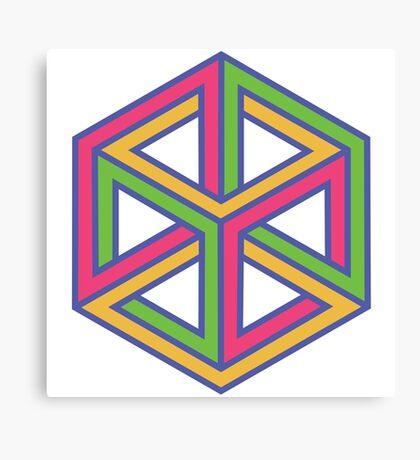 Infinity Cube Canvas Print