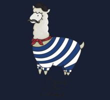 Nerdfighters - French the Llama (Apparel & Transparent Stickers) Kids Clothes