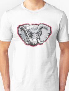 Distressed University of Alabama Crimson Tide Elephant Logo Unisex T-Shirt