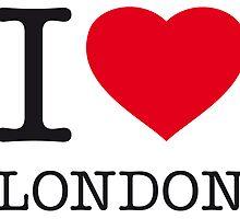 I ♥ LONDON by eyesblau