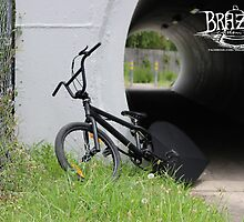 'Black Magic' Custom BMX Bicycle by BrazenCustoms