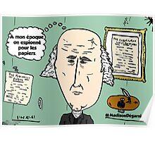 président MADISON chevelu webcomic Poster