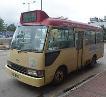 Hong Kong: Bus by Fike2308