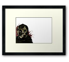 Jason Voorhees Friday the 13th Framed Print