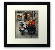 This is the moment of presents Framed Print