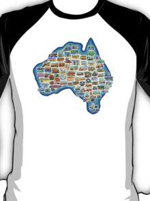 Pictorial Australia T-Shirt T-Shirt