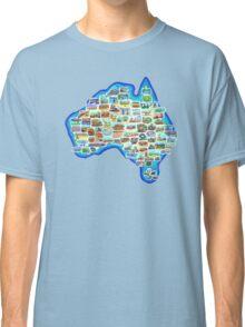 Pictorial Australia T-Shirt Classic T-Shirt