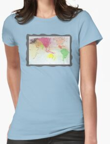 Our world - Our home Womens Fitted T-Shirt