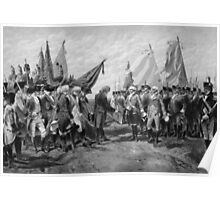 Surrender Of Cornwallis At Yorktown Poster