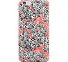 Graphic floral pattern iPhone Case/Skin
