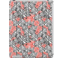 Graphic floral pattern iPad Case/Skin