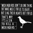It is a sin to kill a mockingbird 2 by silentstead