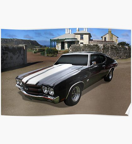 Chevy SS Chevelle Poster