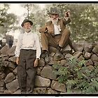 Battle of Gettysburg reunion, July 1913. by PhotoRetrofit