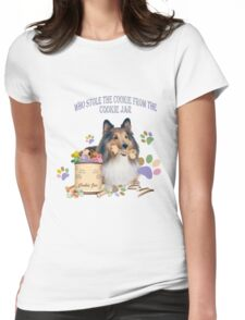 who stole the cookies from the cookie jar? Womens Fitted T-Shirt