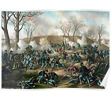 Battle of Fort Donelson Poster
