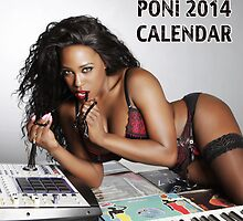 2014 Official Calendar - Poni by marshaponi