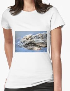 American Alligator Womens Fitted T-Shirt
