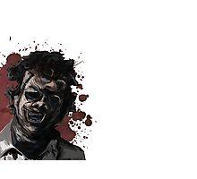 Leatherface Texas Chainsaw Massacre Photographic Print