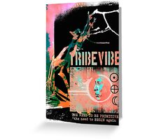 tribe vibe collection Greeting Card