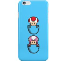 Pocket Toad and Toadette iPhone Case/Skin