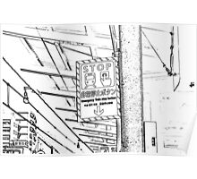 Japan: Train Station Poster