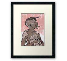 Little Bug Girl Framed Print
