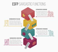 ESFP Sarcastic Functions One Piece - Short Sleeve