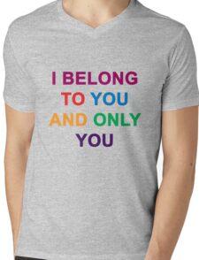 """Cute Love"" Mens V-Neck T-Shirt"