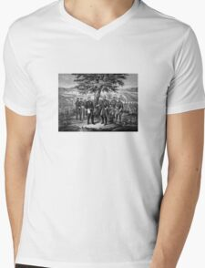 The Surrender Of General Lee Mens V-Neck T-Shirt