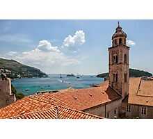 Busy Dubrovnik from Above Photographic Print