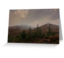Browns Hill and Croaghnageer Greeting Card