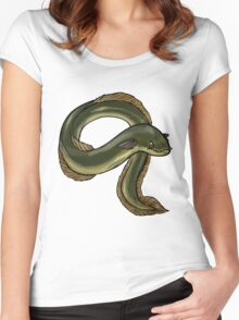 eel anguille Women's Fitted Scoop T-Shirt