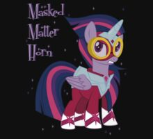 My little Pony - Masked Matter Horn by Celestiya