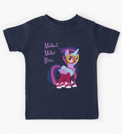 My little Pony - Masked Matter Horn Kids Tee