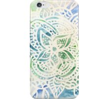 Watercolor Mandala iPhone Case/Skin