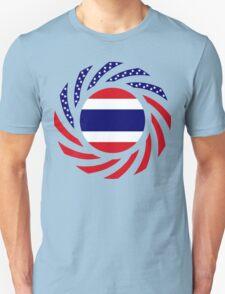 Thai American Multinational Patriot Flag Series Unisex T-Shirt
