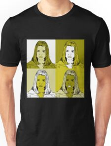 Rose Tyler in Warhol Monochrome Unisex T-Shirt