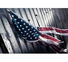 Tattered Patriot Photographic Print